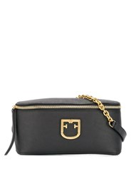 Furla Isola Bum Bag Black