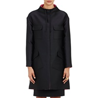 Reversible Look Out Swing Coat Black