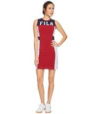 Fila Lacey Dress Rio Red Skyway Navy