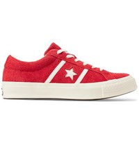 Converse One Star Ox Suede Sneakers Red