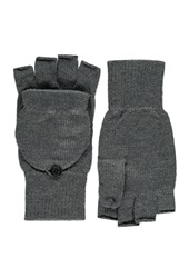Forever 21 Convertible Fingerless Gloves Heather Grey