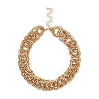River Island Womens Gold Tone Chunky Chain Chain Necklace