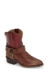 Women's Frye 'Billy Harness' Short Boot 1 1 2' Heel