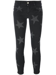 Stella Mccartney 'Skinny' Star Print Jeans Black