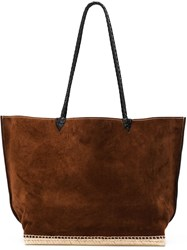 Altuzarra 'Espadrille' Tote Large Brown