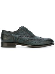 Dsquared2 Brogue Detail Oxford Shoes Green