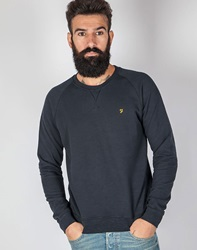 Farah Jared Marl Sweatshirt Navy