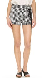 Kempner Ruby Mini Shorts Gingham