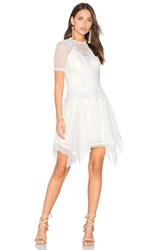 Three Floor After Party Dress White