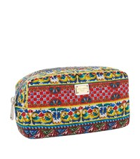 Dolce And Gabbana Small Print Cosmetic Bag Female Red