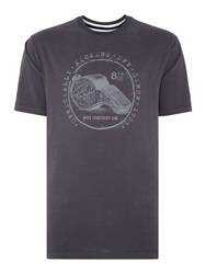 Canterbury Of New Zealand Whistle Tee Grey