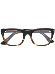 Selima Optique 'Cameron' Glasses Acetate Black
