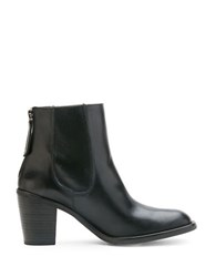Matisse Mack Classic City Leather Ankle Booties Black