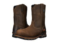 Timberland Ag Boss Pull On Alloy Toe Brown Distressed Men's Work Pull On Boots