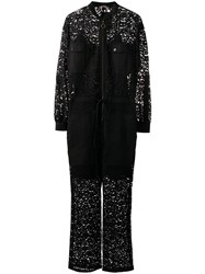 Twin Set Embroidered Lace Jumpsuit 60