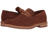 Gordon Rush Carter Tobacco Suede Men's Slip On Shoes Brown