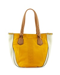 Oryany Lyssie Round Leather Tote Bag Sun Multi