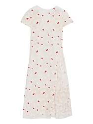 Nina Ricci Applique Crepe Midi Dress