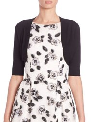 Lela Rose Classic Shrug Black