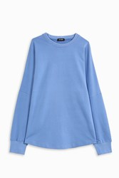 Raf Simons Men S V Friday Relaxed Sweat Top Boutique1 Blue