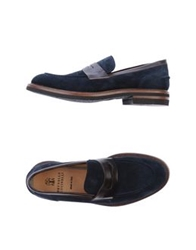 Brunello Cucinelli Moccasins Dark Blue