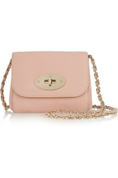 Mulberry Lily Mini Textured Leather Shoulder Bag