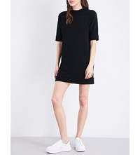French Connection Summer Sudan Jersey Tunic Dress Black