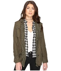 Free People Not Your Brother's Jacket Moss Women's Coat Green