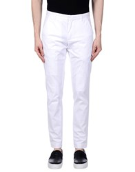 .. Beaucoup Casual Pants White