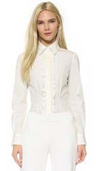 Ungaro Long Sleeve Blouse White