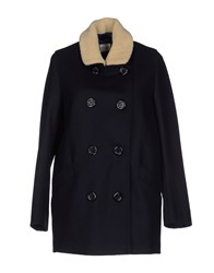 Hartford Coats And Jackets Coats Women Dark Blue