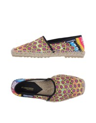 Dsquared2 Footwear Espadrilles Men Yellow