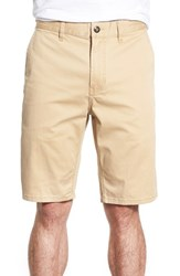 Men's Element 'Howland' Stretch Cotton Twill Shorts Desert Khaki