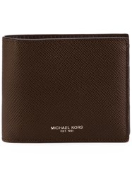 Michael Kors Collection 'Harrison' Wallet Brown