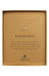 Dogeared Women's Friend Dragonfly Pendant Necklace
