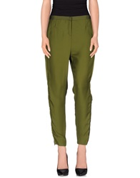 Schumacher Casual Pants Military Green