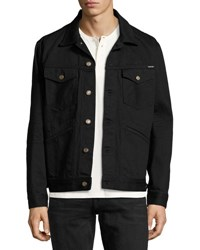 Tom Ford Classic Western Denim Jacket Worn Black
