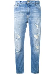 Love Moschino Boyfriend Jeans Blue