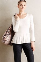 Anthropologie Serenity Tee White