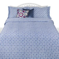 A By Amara Bohemian Duvet Cover Blue