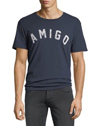 Sol Angeles Amigo Graphic T Shirt Indigo