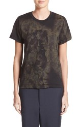 Comme Des Garcons Women's Patterned Wool Tee