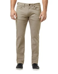 Buffalo David Bitton Six X Slim Straight Colored Jeans Beige