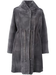 Liska 'Dawson' Coat Grey