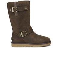 Ugg Australia Women's Sutter Waterproof Leather Buckle Boots Toast Brown