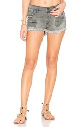 James Jeans Salty Distressed Short Smoke