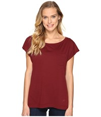 Arc'teryx A2b Scoop Neck Scarlet Women's Clothing Red