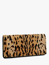 Jaeger Eve Animal Purse Clutch Brown