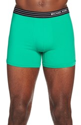 Men's Michael Kors Microfiber Boxer Briefs Shamrock