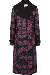 Peter Pilotto Labyrinth Boucle Coat Multi